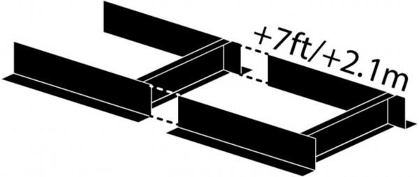 Frontier Sägewerksverlängerung 210 cm für OS 27