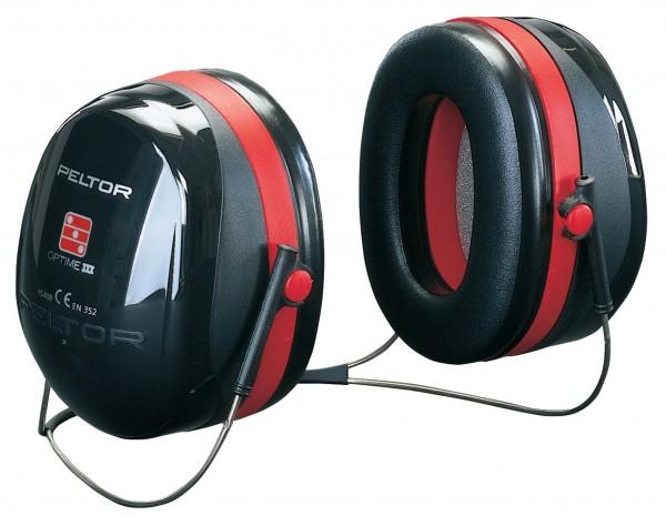Peltor Optime III Gehörschutz mit Nackenbügel (H540B)