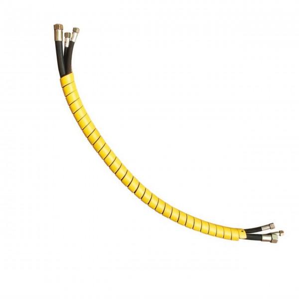 Schlauchschutz 6 m Länge, Farbe gelb