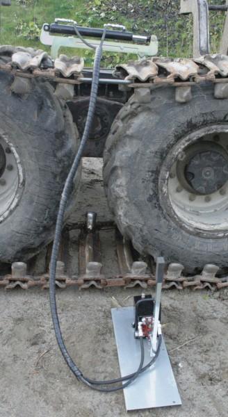 Hydraulisk spændeaggregat til bånd