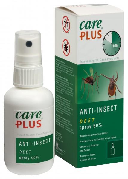 Care Plus Deet Spray 50 % Anti-Insekten