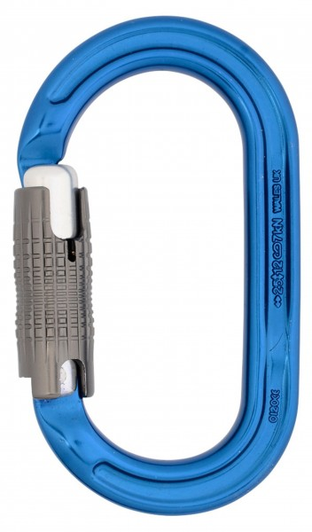 DMM Ultra O Locksafe, Colourpack à 3 Stück, blau/rot/grün