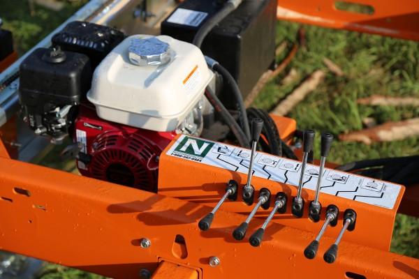 Píla Norwood so systémom hydraulického čerpadla pre HD 36 s motorom Honda