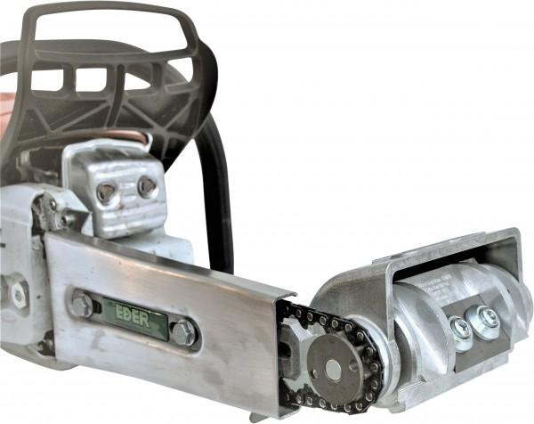 Eder Konturhobel-Anbaugerätekopf für Kettenantrieb