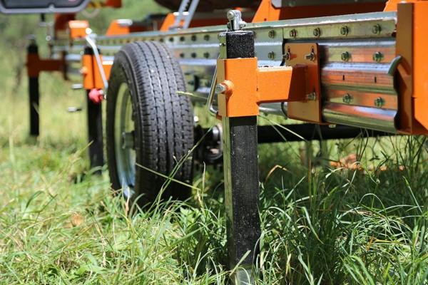 Norwood Anhänger Stellfüße für Sägewerk HD 36 2 Stück