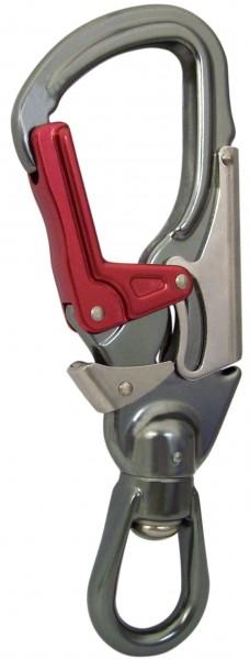 Swivel Eye Tri Lock, Alu - EN 362