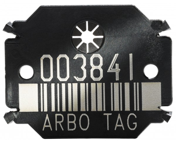 Arbo Tag Barcode Plättchen