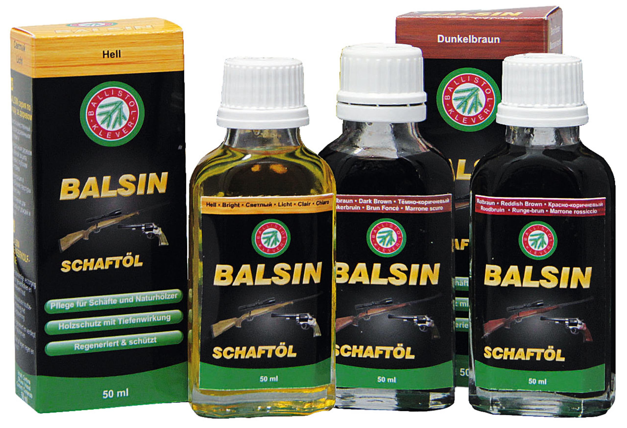 Ballistol Balsin Schaft Öl