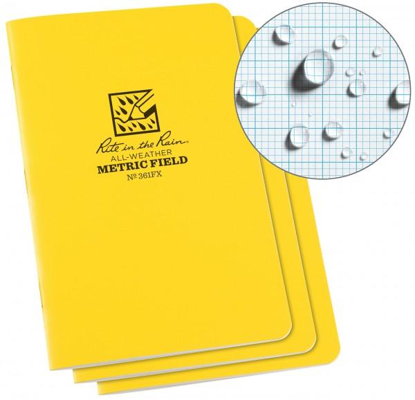 Rite in the Rain Buch mit Heftbindung