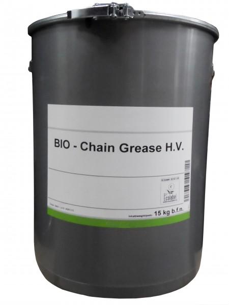 Biol. smørefedt til kæder 15-kg spand