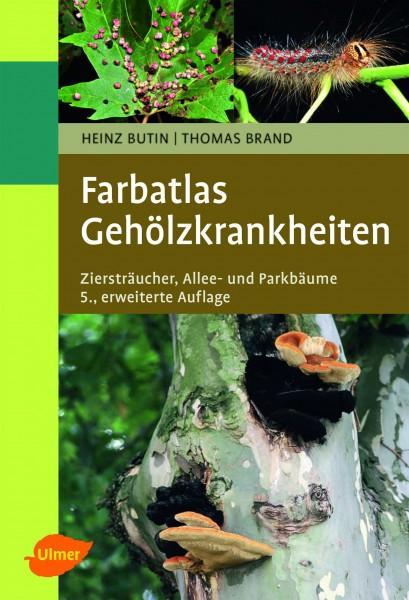 Buch Farbatlas Gehölzkrankheiten – Ziersträucher, Allee- und Parkbäume