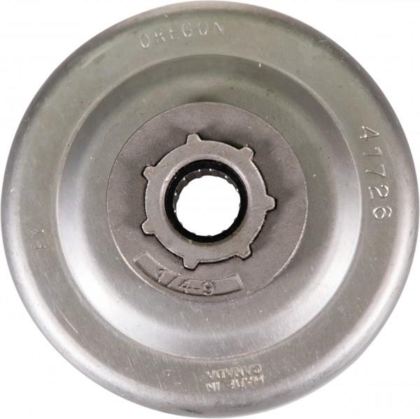"""Kruhové reťazové koleso kompletné s ihlovým ložiskom 1/4"""", 9 zubov,"""