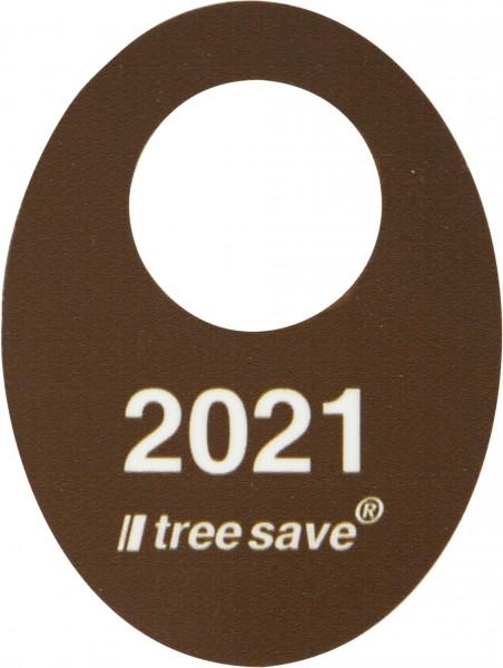 Tree Save Jahreskennscheibe für 2021