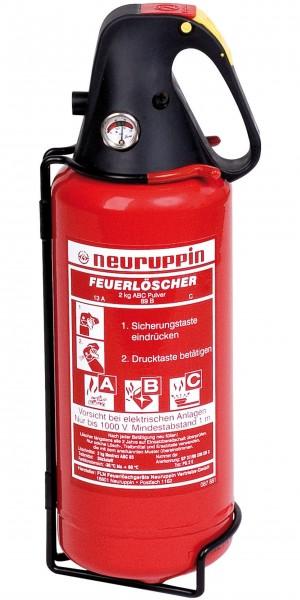 Neuruppin Tragbarer Feuerlöscher PG 2 E