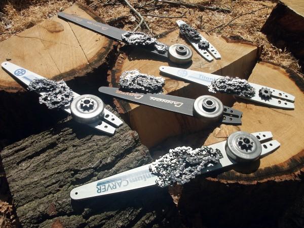 Carving-udstyr til Stihl batteridrevne motorsave
