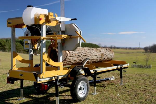 Frontier-trailersystem til savværker