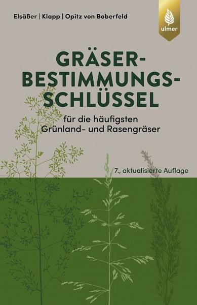 Buch Gräserbestimmungsschlüssel für die häufigsten Grünland- und Rasengräser