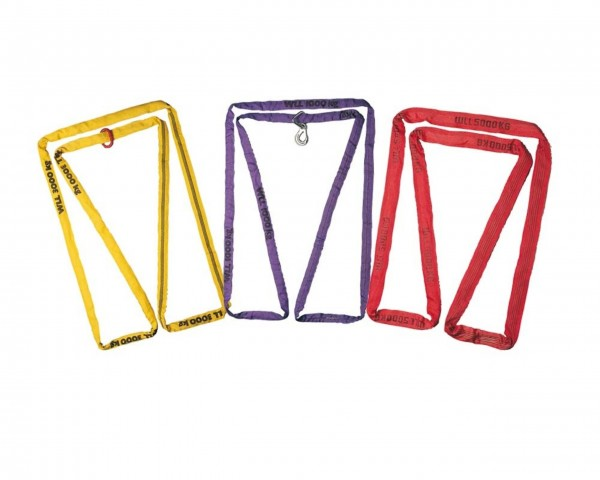 Polyester-Rundschlinge, 6 t, braun