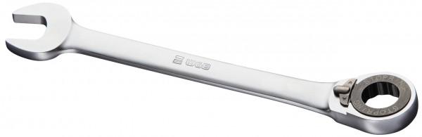 WGB stjerne-/gaffelnøgle med skralde