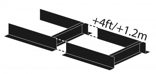 Predĺženie Norwood 120 cm pevné pre HD36V2